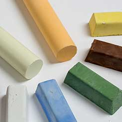 Pâtes abrasives solides pour métaux précious